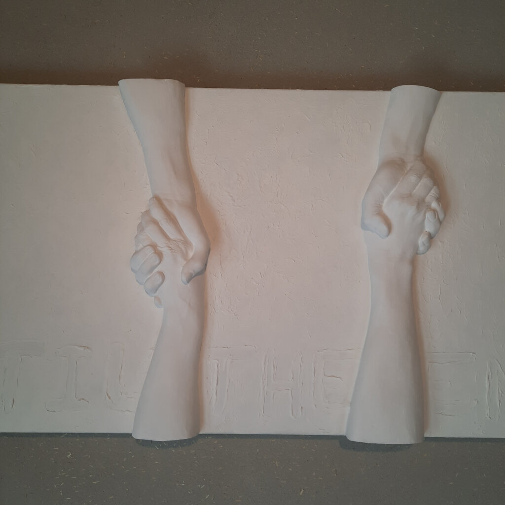 """Sculpture/painting: """"Untill the End"""""""